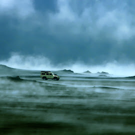 Landy in the Misty storm by Agus Sudharnoko - Landscapes Weather