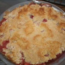 Simple Strawberry Cobbler