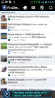 Screenshot of FastLite For Facebook