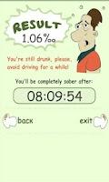 Screenshot of Blood Alcohol Calculator+TIMER