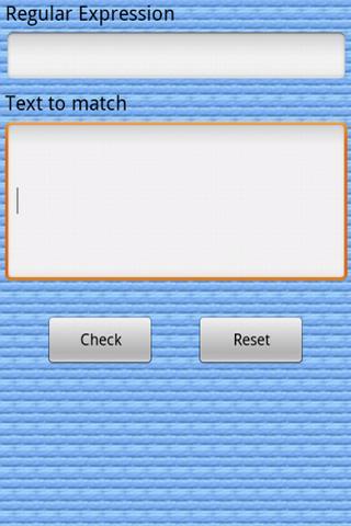 RegEx Checker