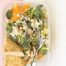 White Bean and Broccoli Salad