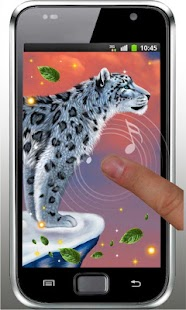 Snow Leopard Sounds HD LWP - screenshot