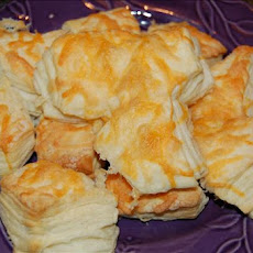 Cheese Wedges (Made With Frozen Biscuits)