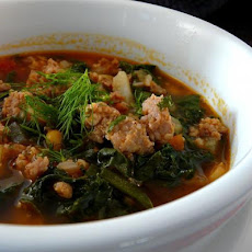Turkey Italian Sausage & Greens Soup