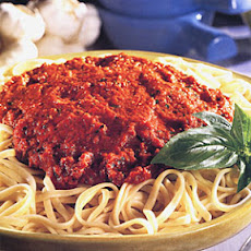 Linguine with Red Pepper Sauce