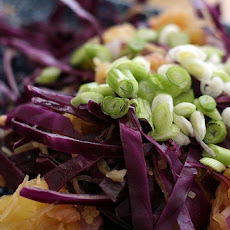 Spaghetti Squash Slaw with Fresh Herbs