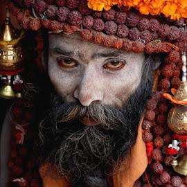 by Arpan Bhattacharya - People Portraits of Men (  )