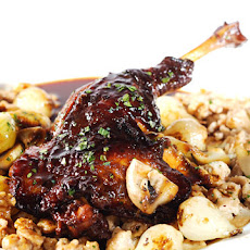 Duck Bourguignonne with Chestnut Spaetzle