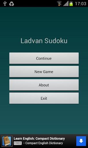 Ladvan Sudoku
