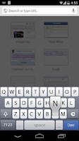 Screenshot of iPhone 5S Keyboard iOS 8