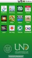 Screenshot of UND