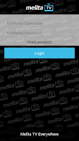 Screenshot of Melita TV