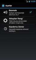 Screenshot of Ali Küçük Tefsiri