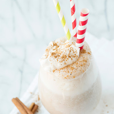 Eggnog Smoothies
