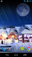 Screenshot of Christmas Silent Night LWP