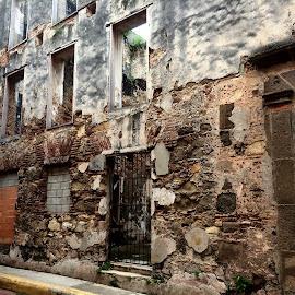 Panama City by Maria Sotirhos - Buildings & Architecture Decaying & Abandoned ( #panama #panamacity #travel #texture )
