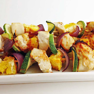 Chicken Orange Skewers