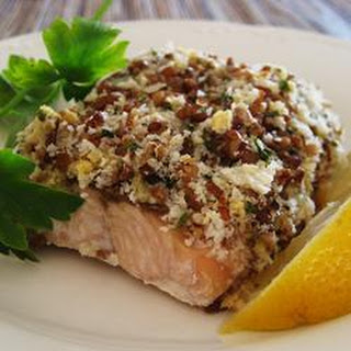 quick and easy pecan crusted dijon salmon quick and easy pecan crusted ...