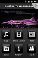 Screenshot of Blackberry Wednesday