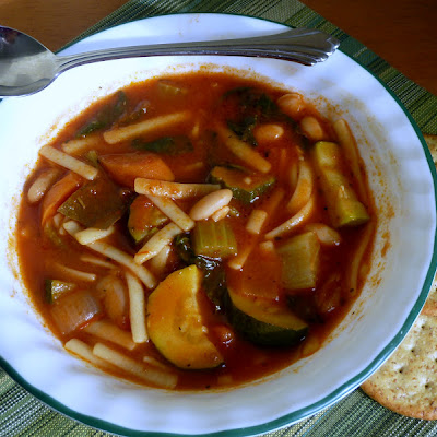 Minestrone Soup-Vegetarian