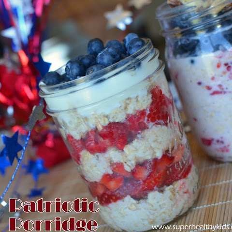 Overnight Patriotic Porridge