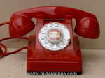 Desk Phones - Western Electric 302 Red