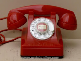 Desk Phones - Western Electric 302 Red 1