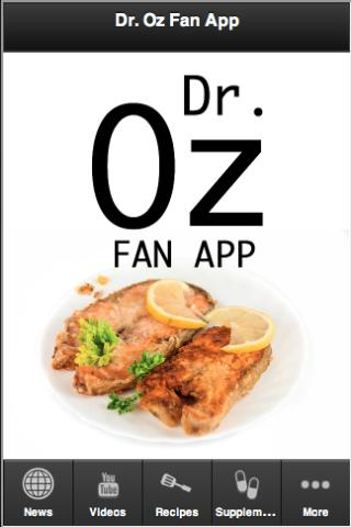 Dr. OZ Fan App