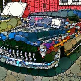 Dots by Chris Winner - Digital Art Things ( #dots )