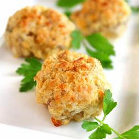 Parmesan and Parsley Sausage Ball Appetizer