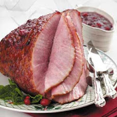 Spiral Ham with Cranberry Glaze Recipe