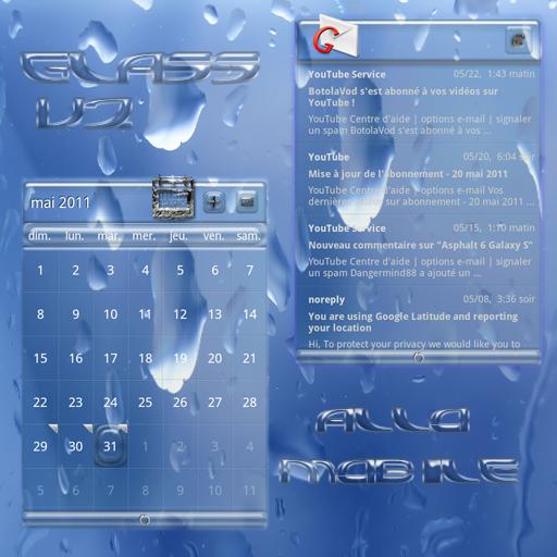LauncherPro玻璃皮膚 個人化 App LOGO-APP試玩