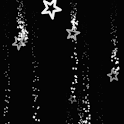 Night Fallen Stars LWP icon