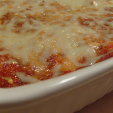 Baked Ziti With Eggplant and Ricotta Cheese