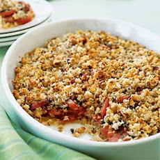 Tomato and Sweet Onion Crumble