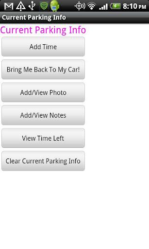 Find my Car Advanced
