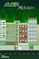 Screenshot of GPS Alien Attack