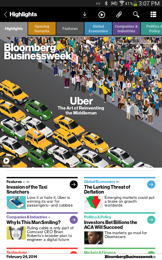 Bloomberg Businessweek+ Screenshot 11