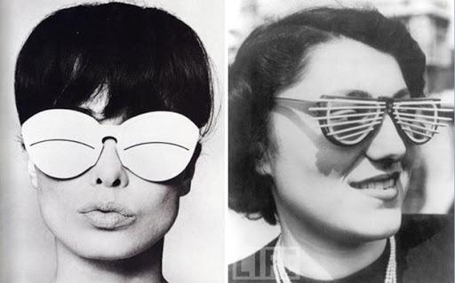 gafas raras de courreges