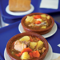 Sancocho (Chicken and Root Vegetable Soup)