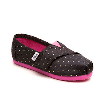 Toms Gold Dot SHOES