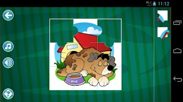 Screenshot of Jigsaw Puzzles for Kids LITE