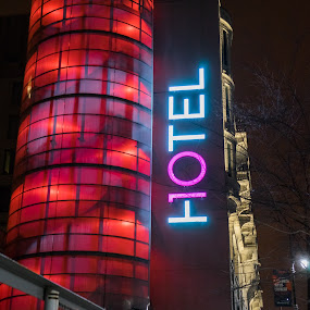 Hotel 10 by Stéphane Vaillancourt - Buildings & Architecture Other Exteriors ( urban, montreal, building, quebec, canada, hotel 10, street )