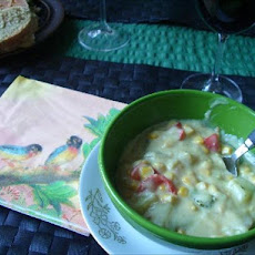 Vegan Corn & Vegetable Chowder