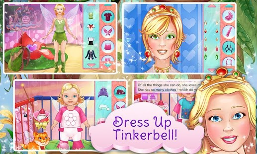 Tinkerbell Dress Up & Story- screenshot thumbnail
