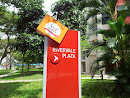 Sign to Rivervale Plaza