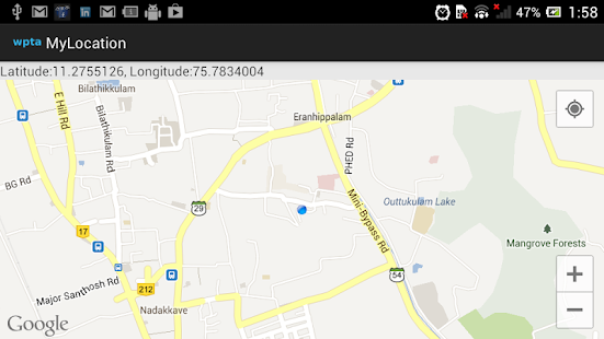 MyLocation - screenshot