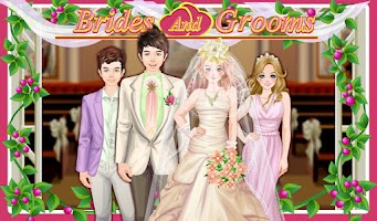 Screenshot of Bride and Groom Wedding games