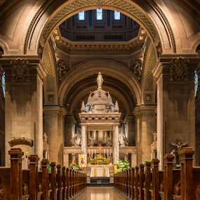 Basilica St. Mary by Andy Chow - Buildings & Architecture Places of Worship ( minneapolis, st mary, basilica, building, interior, worship )